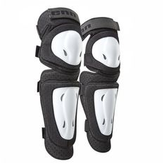 Tenn MX/DH/BMX Padded Cycling Knee Guards White S/M by Tenn-Outdoors. $27.99. Another outstanding value product manufactured and brought to you by Tenn Outdoors. Brand new for Summer 2011, we introduce our Hard Shell Knee Guards combined with shin protection, representing incredible value for money. The knee joint is fully articulated giving you maximum freedom of movement. Our pads are Four sturdy velcro bindings with additional support above the knee firmly keep the pads ...