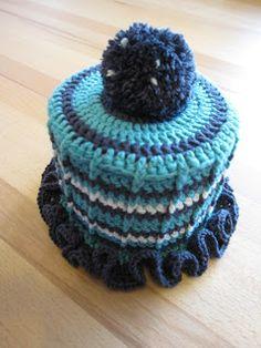 Oldtimer Accessoire Klohut häkeln #diy #crochet #häkeln #hat
