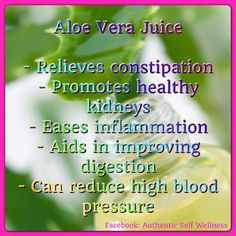 Aloe Vera Juice Benefits- started drinking 8 oz a day, and loving it! Health And Beauty Tips, Health And Wellness, Health Fitness, Juicing Benefits, Health Benefits, Healthy Kidneys, Relieve Constipation, Holistic Medicine, Forever Living Products