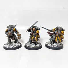 Pete Whitlam (@upplander) • Instagram photos and videos Marine Colors, Warhammer Models, Space Wolves, Warhammer 40k Miniatures, Mini Paintings, Warhammer 40000, Space Marine, Gw, Colour Schemes