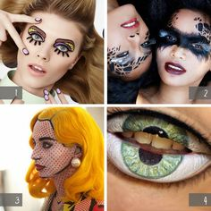 I love #1...pop art eyes