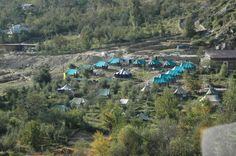 #9. Banjara Camps of India – Camping in the apple blossoms Best time to visit: All round the year Accommodation: Rooms and independent log cabins
