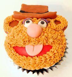Muppets Fozzie Bear Cake