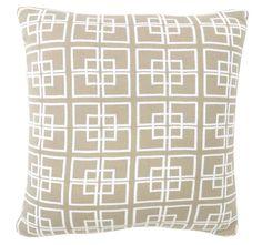 DG37 Delta Knit 50x50cm Filled Cushion Natural