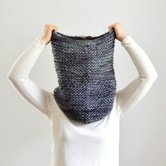 beautiful.. Chunky Scarf Double Thick Cowl Scarf Hood Extra Soft by IRISMINT