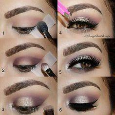 Elegant eye make up Gorgeous Makeup, Love Makeup, Makeup Inspo, Makeup Art, Makeup Inspiration, Hair Makeup, Makeup Style, Makeup Ideas, Dead Makeup