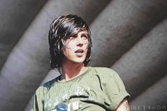 Kellin Quinn. his reaction when he saw me :) ( God his sexiness )