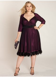 Dress up like a Drama Queen with #IGIGI_Lamourette on a Chiffon Cocktail dress. $170.00