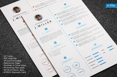 Check out X Clean Resume by CodePower on Creative Market Portfolio Covers, References Page, Letter I, Best Resume, Creative Resume Templates, Cleaning, Marketing, Words, Digital Art