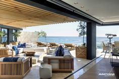 arhitecture SAOTA CliftonBeach Impressive Beachfront Property Renovation in Cape Town by ANTONI ASSOCIATES