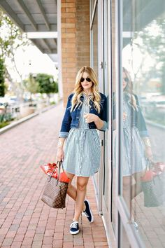 What is a shirtdress, you ask? It's literally exactly what it sounds like: a shirt that is long enough to be considered a dress. A typical shirtdress looks like a long button-down shirt, and you can either buy them that way or get creative and make your own out of an over-sized shirt. Shirtdresses are … Read More