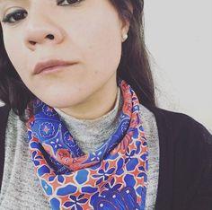 Me encantó la mascada de  @jimena_de_gortari que nos compartió en Instagram #tanyamossyyo