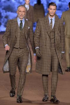 Mad for Plaid Etro Men's RTW Fall 2014