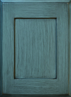 Telluride Flat Panel Door  Available Material: Standard Wood Species Color Shown: Indigo Signature Finish on Maple Material Available in All Outside Profiles - Shown with Roman Outside Profile Face Framing, Custom Cabinetry, Panel Doors, Wood Species, Cabinet Doors, Color Show, Indigo, Roman, Profile