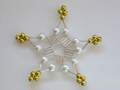 Christnas ornament star/snowflake...