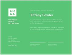 Use this customizable Plain Green Simple Awards Certificate template and find more professional designs from Canva. Plaque Design, Simple Borders, Arts Award, Certificate Templates, Thesis, Packaging Design, Design Art, Awards, Design Inspiration