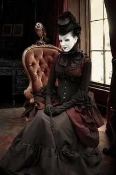 Portrait 01 by KYghost  #victorian #dark #elegance