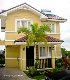 kulay ng bahay - Google Search Small House Design, Steel Doors, Home Design Plans, Exterior Colors, Door Design, House Colors, Google Search, Outdoor Decor, Home Decor