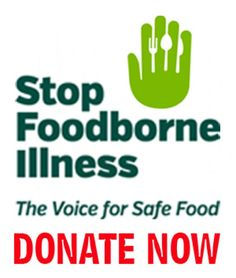 Do you want to help advance the cause of food safety? Consider donating today to #STOPFoodborneIllness -