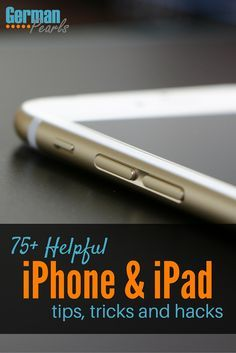 I love learning new iPhone tricks and hacks! There are so many tips on this site for using my iPad and iPhone.
