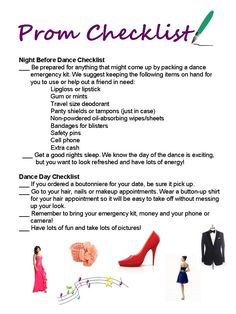 A Prom night emergency kit is a must-have for every girl!  This is Prom Tip #7 from Hair Plus!