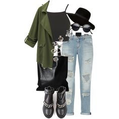 Untitled #1391 by itsmeischoice on Polyvore featuring Topshop, rag & bone and Forever 21