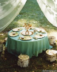 Pixie Birthday Party - Transform your backyard into a magical woodland for your daughter and her fellow fairy princesses.