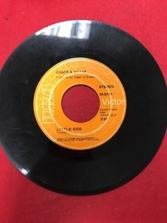 Zager And Evans - In The Year 2525 Exordium & Terminus / Little Kids 45 1969