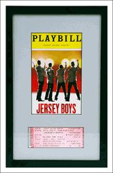 A great way to store your playbills and tickets, especially your faves Broadway souvenir display frame: Playbill & theatre ticket