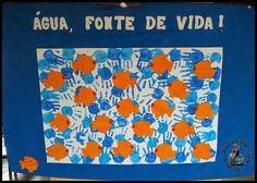 Pequenos Grandes Pensantes.: Mural Semana Comemorativa Sobre a Água