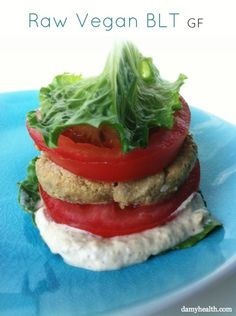 ‪‎Raw‬ ‪‎Vegan‬ BLT ‪  http://www.damyhealth.com/2013/07/the-best-summer-raw-meals/