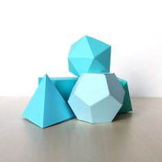 This Listing Includes: 5 Geometric Shapes- Fun for wedding decoration, party centerpieces or even lovely on a side table as home decor. Shapes:
