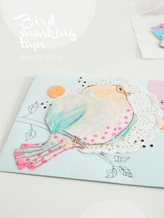 thema vintage vogel snail mail