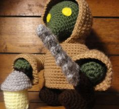 Tonberry - Handmade amigurumi inspired by the Final Fantasy videogame series