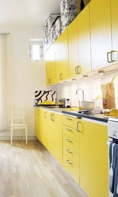 Beautiful Bedrooms, Living Rooms, Foyers, Bathrooms With Yellow Accents | Apartment Therapy