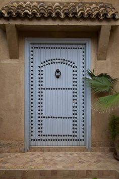 Doors of Morocco-106 by patpaddlefoot, via Flickr