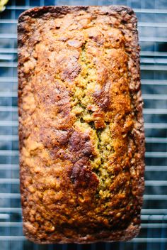 Celebrate #BananaBreadDay with this healthy recipe from cookieandkate.com!