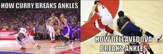 Stephen Curry vs. Matthew Dellavedova: Ankle Edition! - http://nbafunnymeme.com/nba-memes/stephen-curry-vs-matthew-dellavedova-ankle-edition