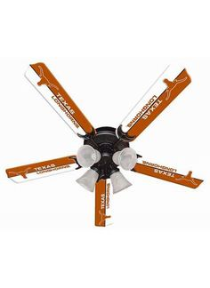 Ceiling Fan Designers New Ncaa Texas Longhorns 52 in. Ceiling Fan, As Shown Texas Longhorns Football, Ut Longhorns, Oregon Ducks Football, Alabama Football, Texas Rangers, American Football, College Football, Alabama College, Eyes Of Texas