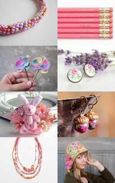 Pink candy by Anna Borysewicz-Segit on Etsy--Pinned with TreasuryPin.com