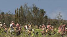 Indische Kriegerinnen, sie schützen den General mit ihrem Leben Total War Rome 2 Emperor Edition Divide et Impera
