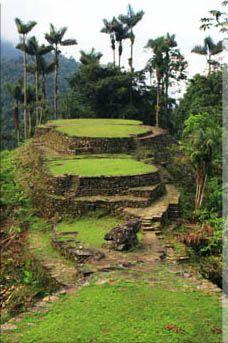 Ciudad Perdída, Colombia