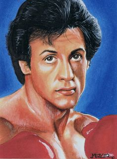 Rocky Balboa for 2010 TCA by jenchuan on DeviantArt Rocky Balboa, Caricatures, Stallone Movies, Rocky Poster, Indrajal Comics, Andre Luis, Rocky Film, Stallone Rocky, Silvester Stallone