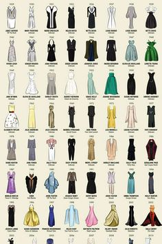Every Best Actress Gown from the Oscars Since 1929