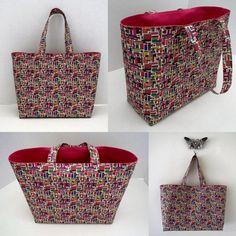 Pantone Jazz © Custom Tote Bag shop.skcreations.com #bags #tote #surfacedesign #sewing #accessories #art #original