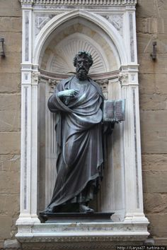 Св. Матфей Лоренцо Гиберти, 1420 г. Greek, Statue, Vintage, Art, Art Background, Kunst, Vintage Comics, Performing Arts, Greece
