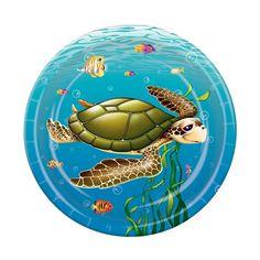 Aweeeee Under The Sea Plates #seasturtles
