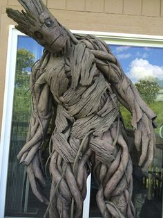 Fantastic Groot Cosplay Costume by Calen Hoffman Propcustomz - Imgur - step by step pictures instructions