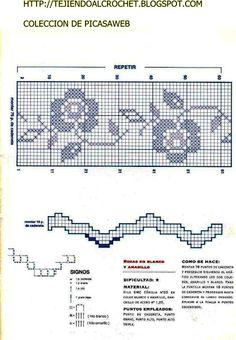 CROCHET FABRIC = CROCHET COLLECTION = SPRIGS = picasaweb