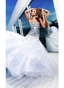 Strapless Sweetheart Ballgown by Tony Bowls TB-TBE11240